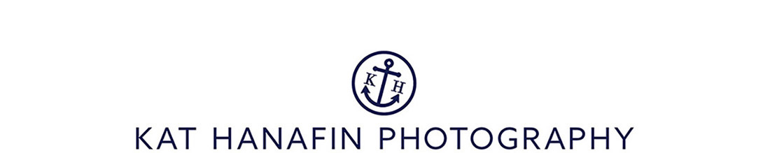 kat hanafin || seaside wedding photography logo